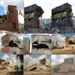 Joe White Maltings demolitions in progress