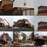 Penney and Lang Abbatoir demolition project Carisbrook